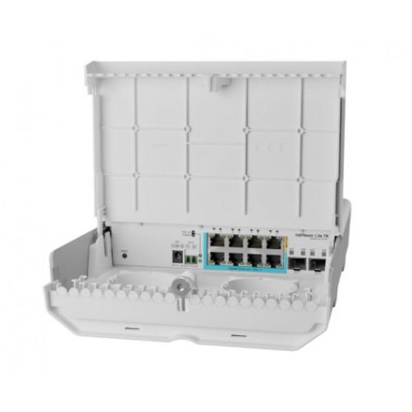 MikroTik OutSwitch CSS610-1Gi-7R-2S+