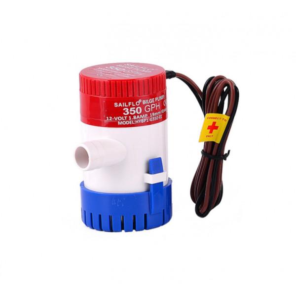 Shur bilge črpalka vode 12V 22W 350GPH