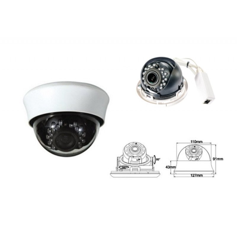 AceSee IP Cam ADT45 2.4M 1080p IR PoE