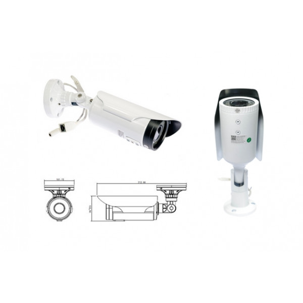 AceSee IP Cam AVEN60 2.4M 1080p IR PoE