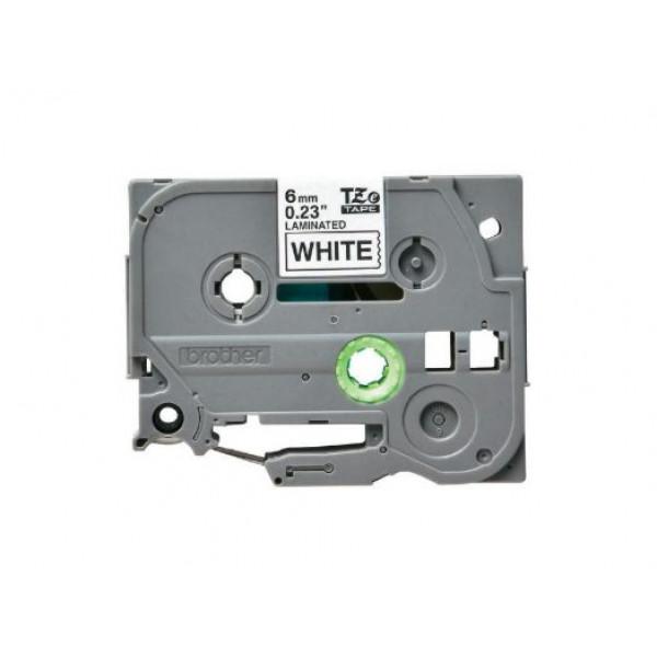 Brother laminated TZe211 6mm White