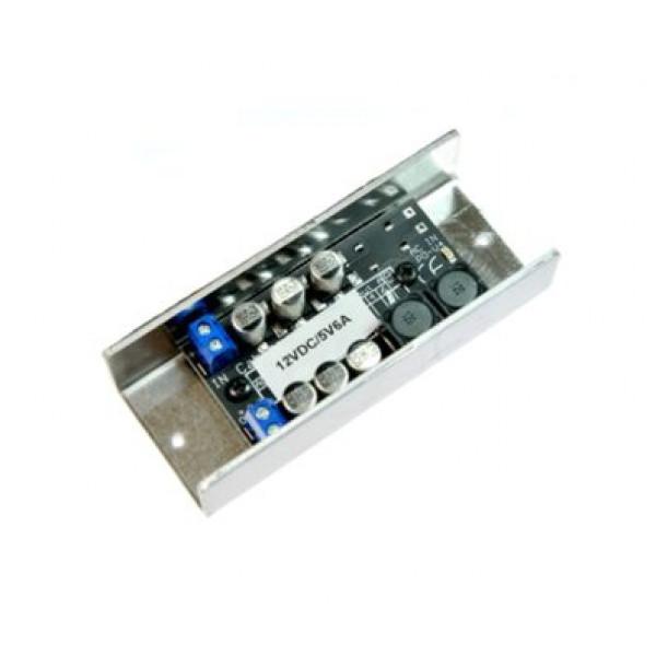 CMedia pretvornik DC12V/5V 4A