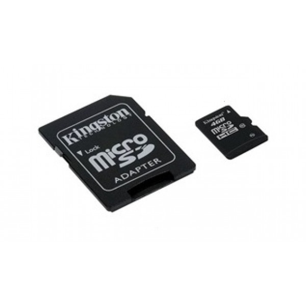 Flash MicroSD 4GB HC C10
