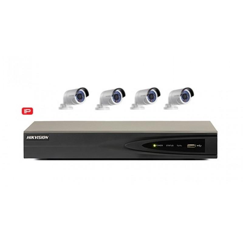 IP Hikvision DS-7604NI-E/4P 4x2CD2032F-I 3MP