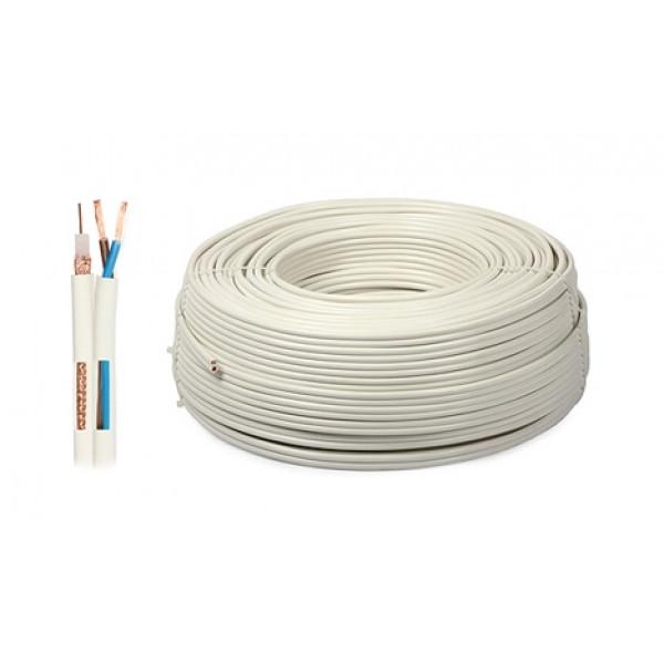 Kabel Koax CCTV Y59+2PW1 100m