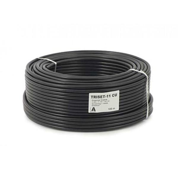Kabel Koax Outdoor PRO TriSet 11 - 100m