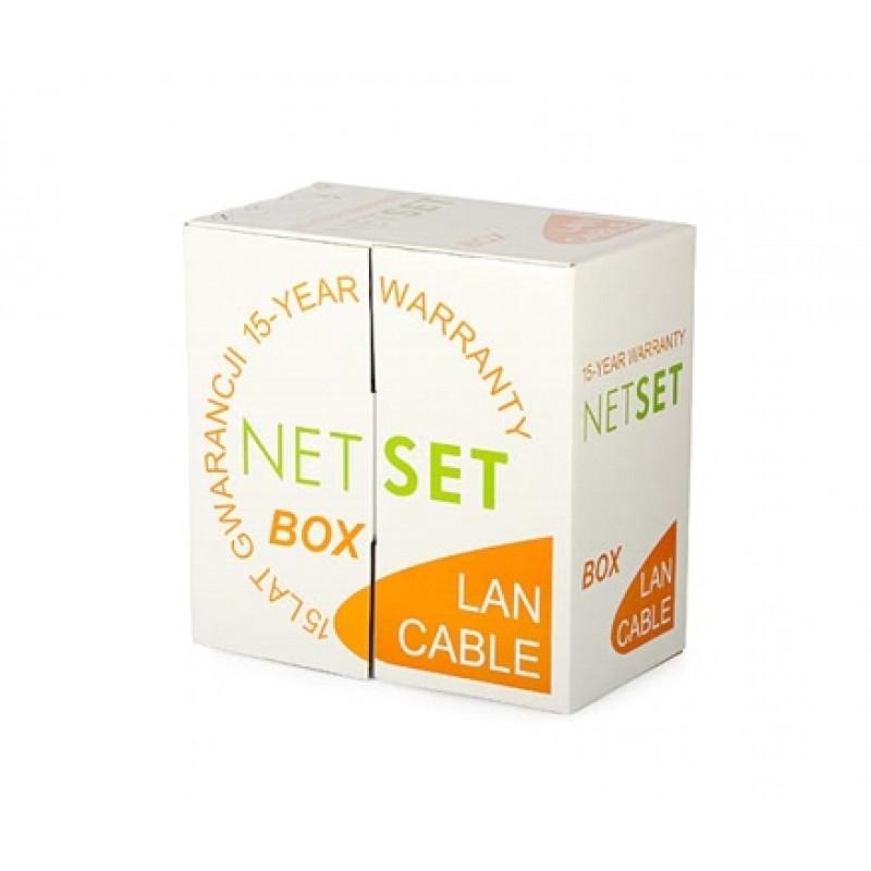 Kabel NetSet UTP Cat 5e - 305m