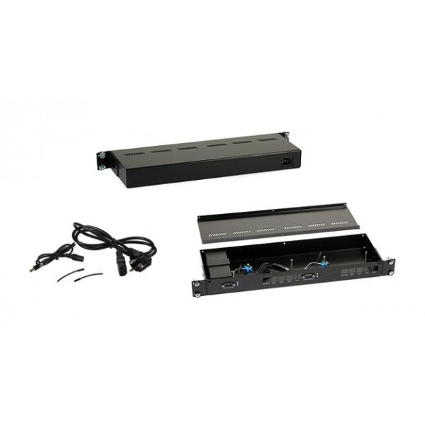 Mikrotik Ohišje Rack 1U 2xRB450 RS232