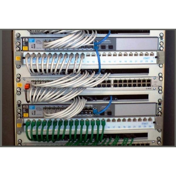 Montaža omrežnih kabinetov in inštalacij