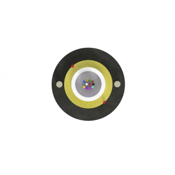 Optični kabel Aramid Z-XOTK 8x9/125 1km