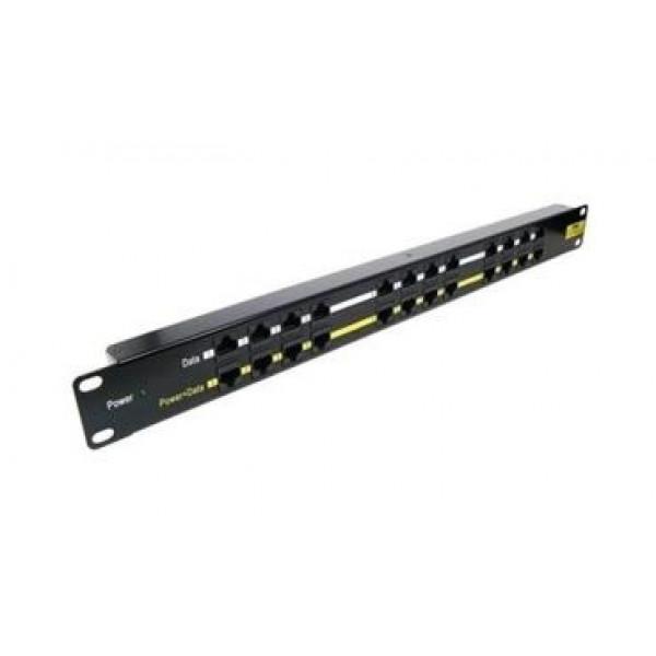 Rack Multi Injektor 12xPoE 1U