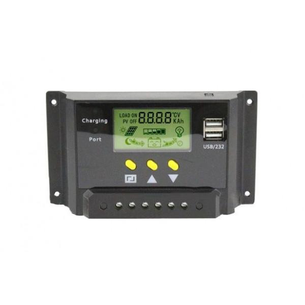 Regulator PMW LCD Sistem 12-24V / 20A