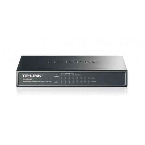 Switch PoE TP Link TL-SG1008P