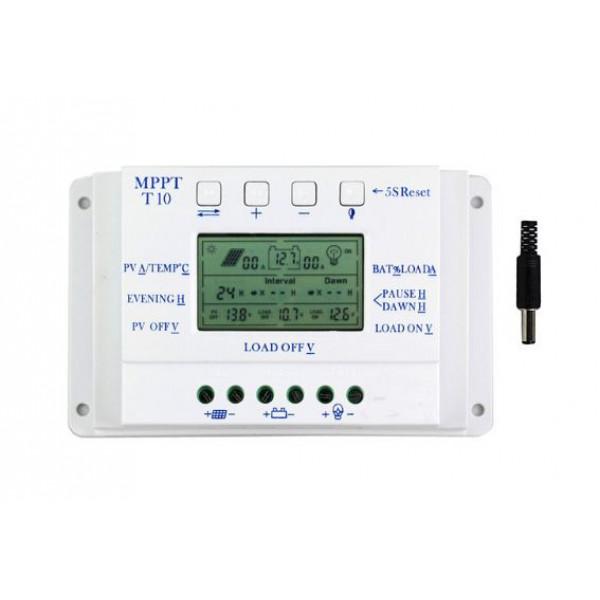UNI Regulator MPPT10+PMW 12-24V 10A