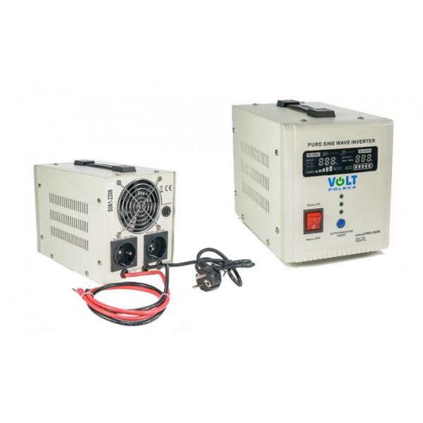 Volt Smart UPS Inverter S-PRO 12V 500E