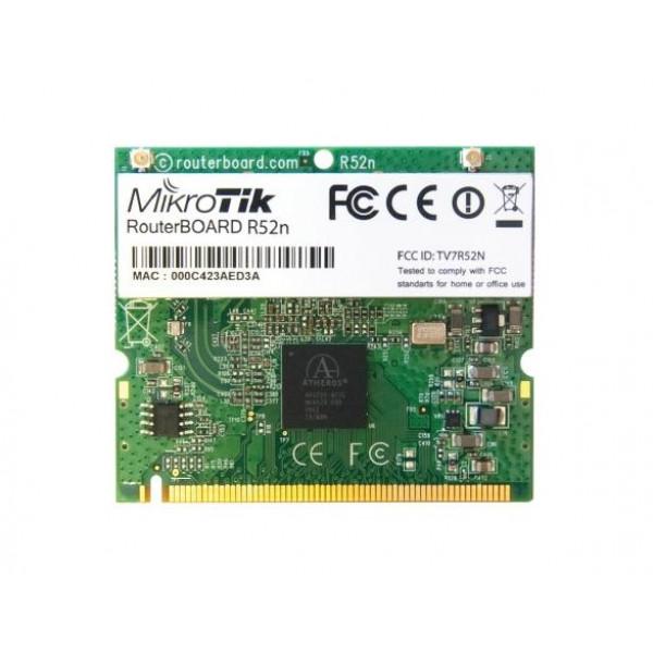 WiFi Mikrotik mPCI Card R52n