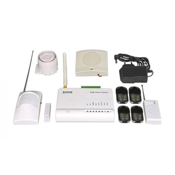 WiFi Sonix GSM alarmini sistem