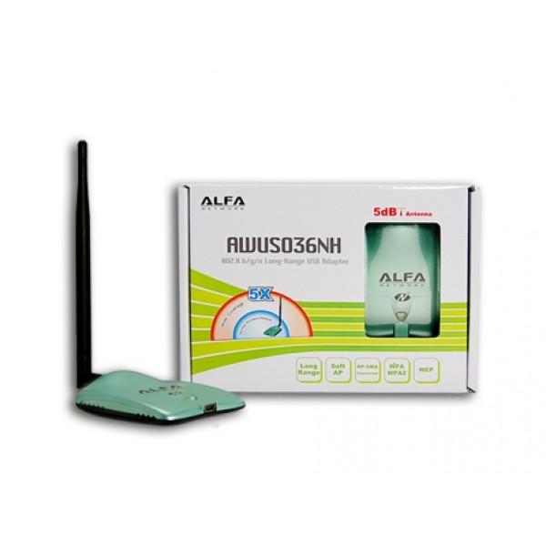 WiFi USB Adapter Alfa AWUSO36NH