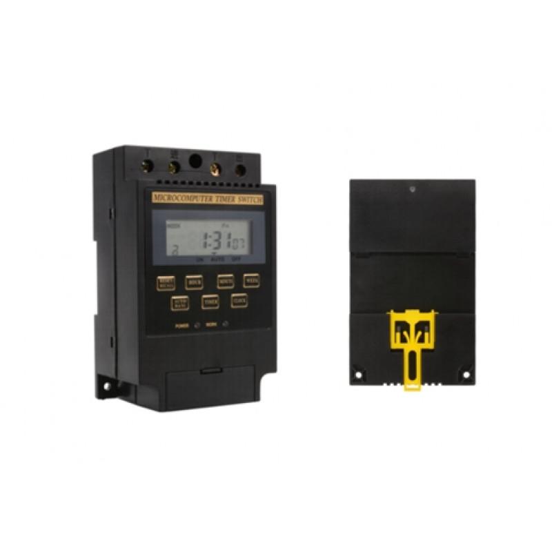 Časovno stikalo DIN 20A z LCD AC 230V