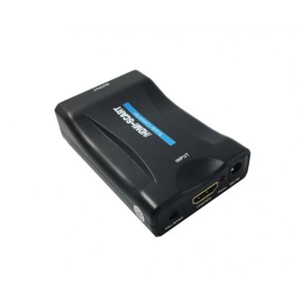 Adapter HDMI na SCART z USB DC5V