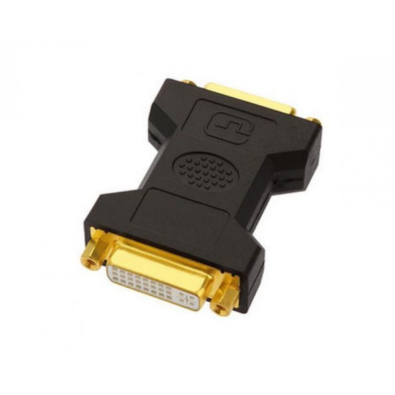Adapter 2x DVI-DVI Female 24+5