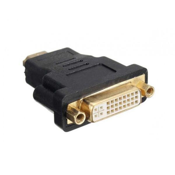 Adapter HDMI Male na DVI FeMale 24+5