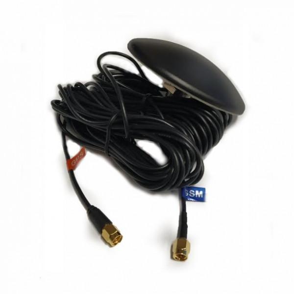 Antena Comsat dual GSM 3G WiFi SMA