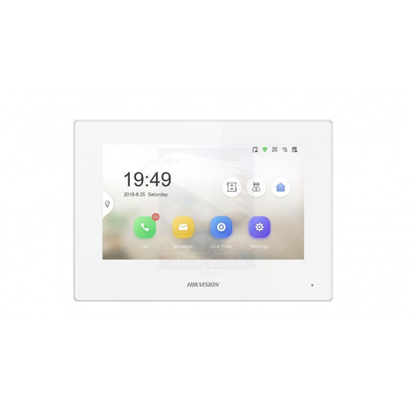 "Hikvision IP Domofon LCD 7"" DS-KH6320-WTE-W"
