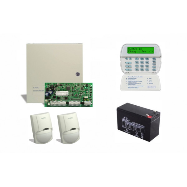 DSC Alarmni komplet HS2016 LCDRF8