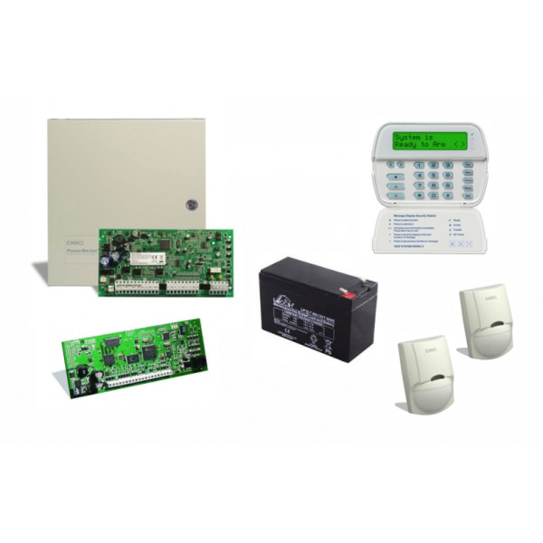 DSC Alarmni komplet HS2016 TL280 LCDRF8