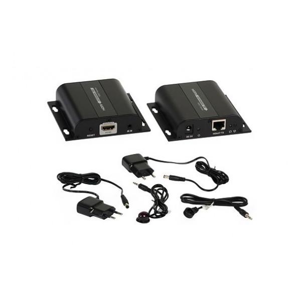 Prenos HDMI+IR preko IP LAN 100M