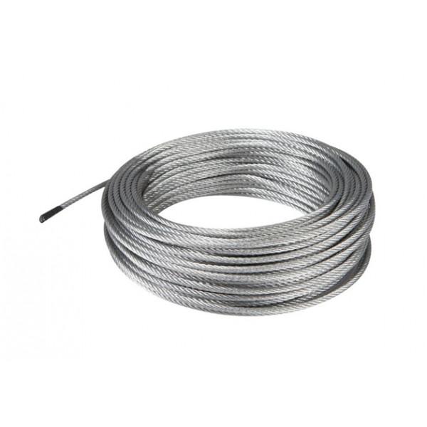 Pletena pocinkana jeklena vrv 4MM
