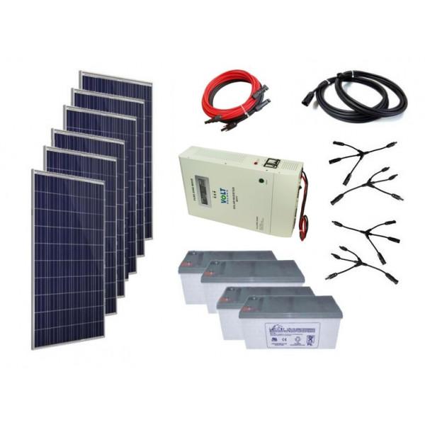 Solarna elektrarna vikend sistema 48V - 1800W