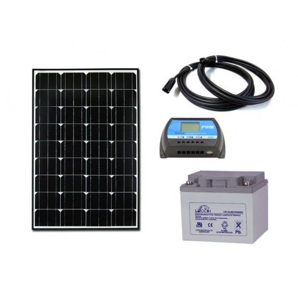Solarni komplet uni sistema 12V - 100W