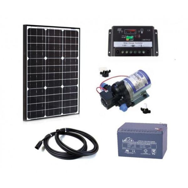 Solarni komplet kamp sistema 12V - 50W