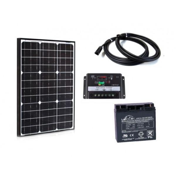 Solarni komplet uni sistema 12V - 50W