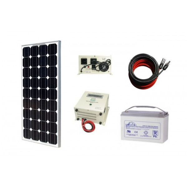 Solarni komplet vikend sistema 12V - 165W
