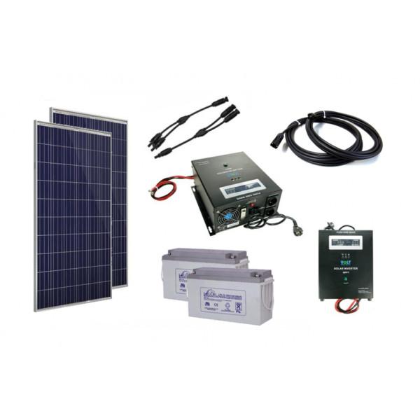 Solarni komplet vikend sistema 24V - 750W
