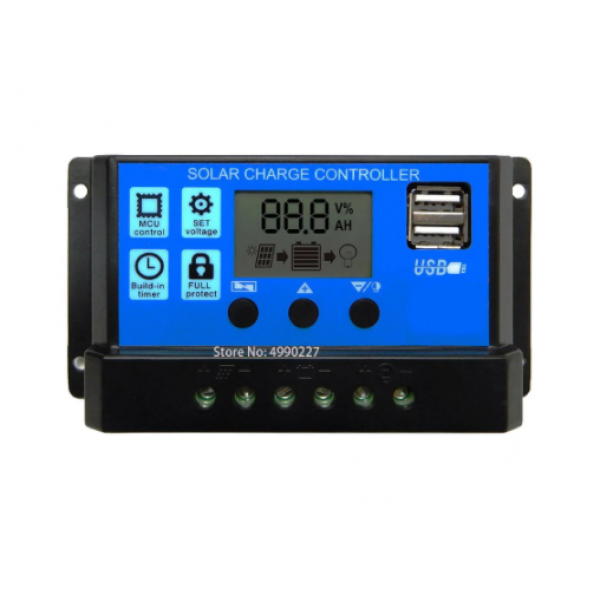 Regulator LCD PMW 10A 12-24V USB