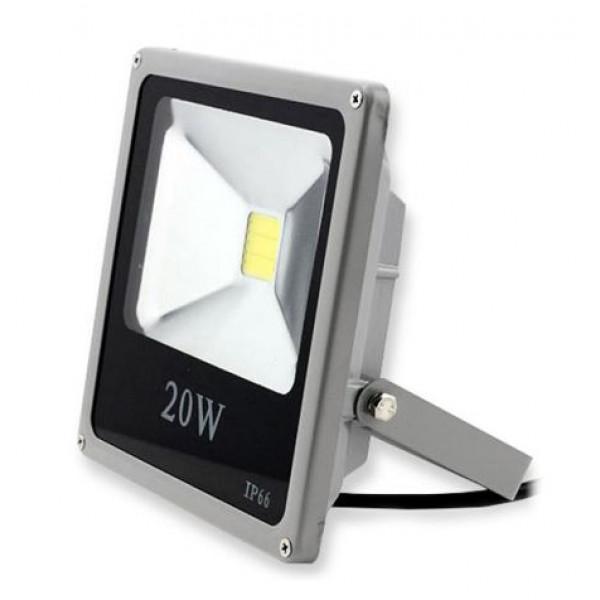 Solarni LED reflektor 12-24V 20W