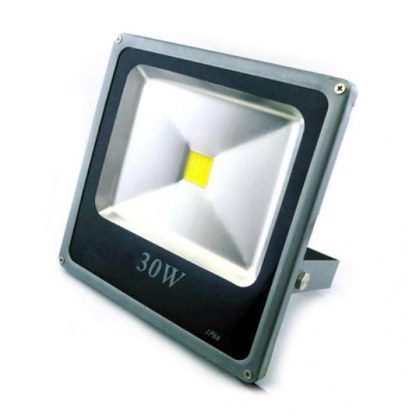 Solarni LED reflektor 12-24V 30W