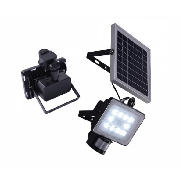 Solarni PIR reflektor 2AH 12V 20W