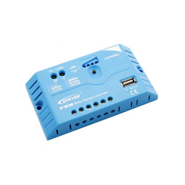 Regulator polnjenja LS1024EU 12-24V 10A USB