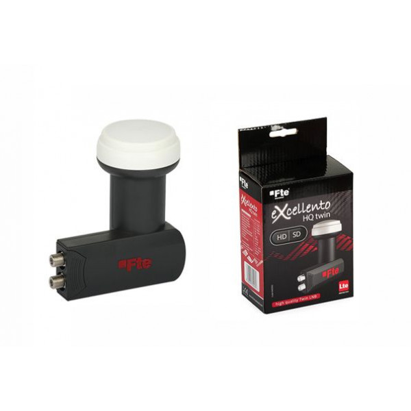 Twin LNB eXcellento Fte HD 0.1dB