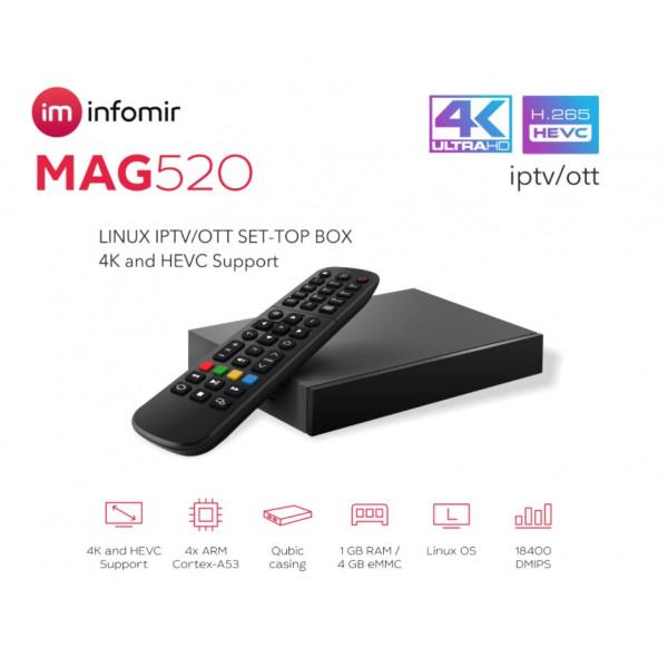 Multi Smart IPTV STB MAG520 HD