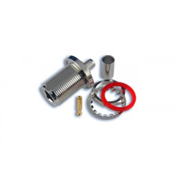 N FeMale PCB krimp za H155