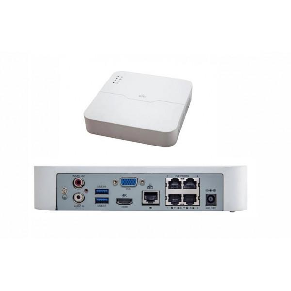 UNV Recorder NVR301-04L 4CH 4xPoE