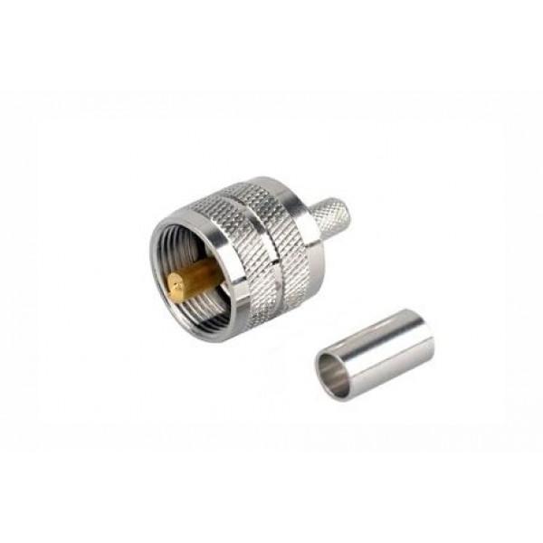 UHF Male krimp za H155