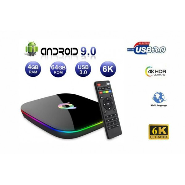 Android TV Box Q Plus 4GB/64GB 6K