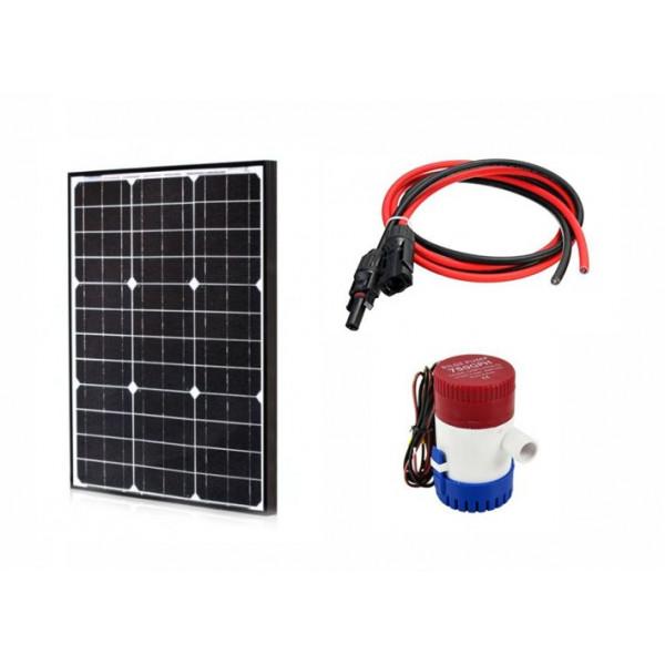 Solarni komplet ribnik sistema 12V - 50W
